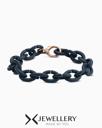 [X Jewellery] Steel Blue Bronze Bracelet