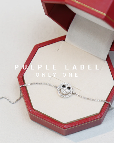 [Purple LABEL #14] Diamond Smile 18K Bracelet