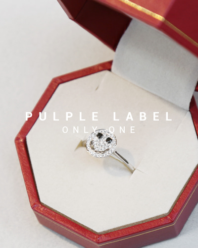 [Purple LABEL #14] Diamond Smile 18K Ring