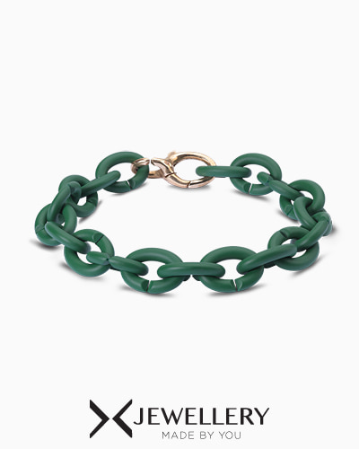 [X Jewellery] Keen Green Bronze Bracelet