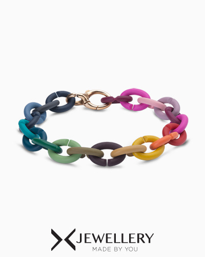 [ BEST SELLER ] Rainbow Rubber Bracelet