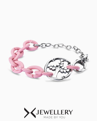 [X Jewellery] Blush Tree of Life Bracelet