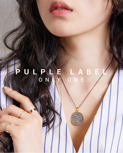[Purple LABEL #15] 24K + Silver Seljuk Coin Diamond Pendant