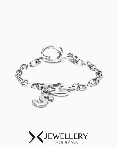 [X Jewellery] ABC Link Chain Bracelet