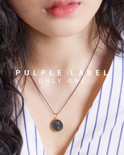 [Purple LABEL #15] 24K + Silver King Coin Pendant