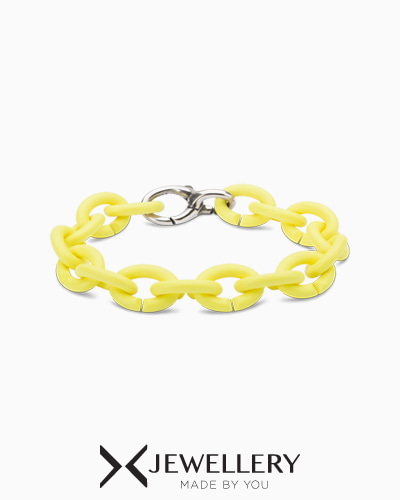 Light lemon Silver Bracelet
