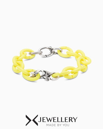 Light Lemon xoxo Bracelet